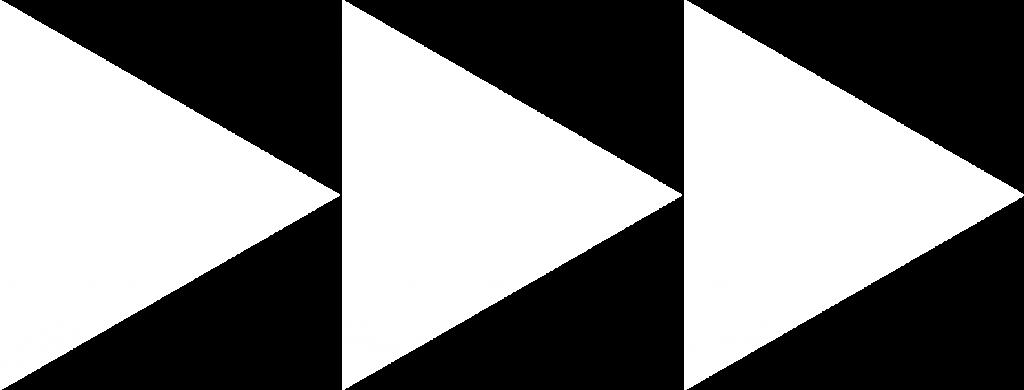 3 white triangles, Prestige Portfolios logo